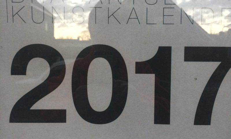 De Grote Brabantse Kunstkalender 2017